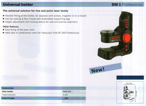 universal holder ( BM 1 Professional)
