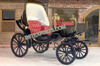 Royal Small Black Victoria Carriages