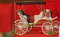 Wedding Stage Decor Victoria Carriages