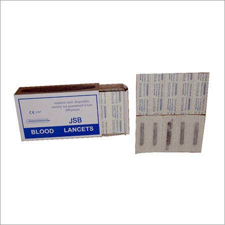 Disposable Steel Lancets
