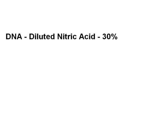 Diluted Nitric Acid