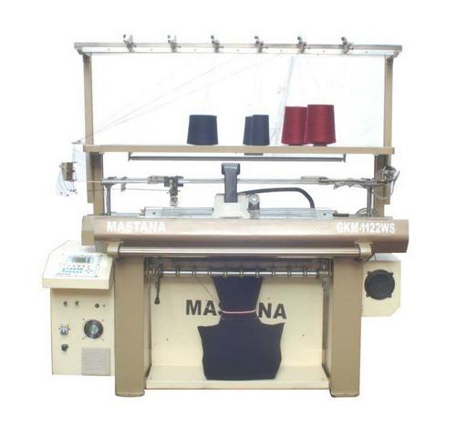 Computerized Widening Flat Knitting Machine