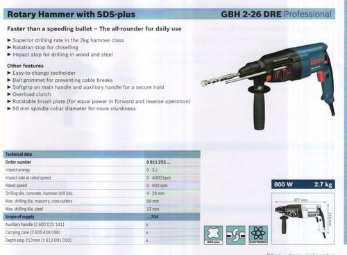 GBH 2-26 DRE professional.