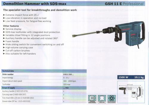 GSH 11 E professional