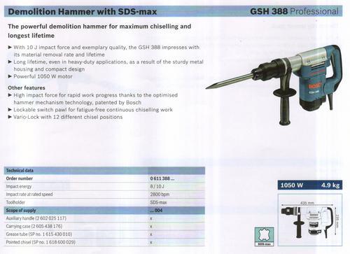 GSH 388 professional
