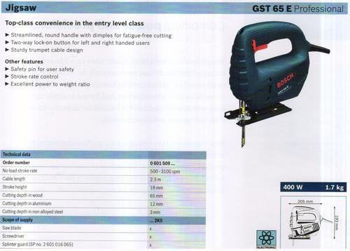 GST 65 E Professional