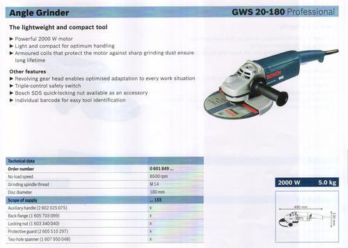 GWS 20-180 professional