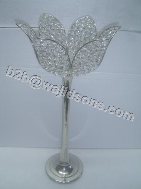 Crystal Lotus T Lite Holder