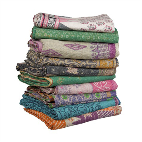 kantha silk needle work embroidery