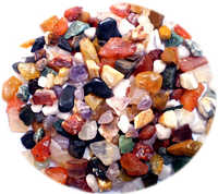 semi precious stones mixed