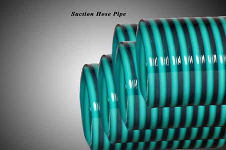 Green Suction Hose Pipe