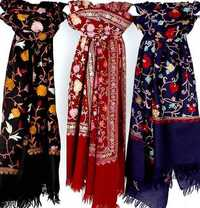 Ari Work Hand Embroidery Shawls