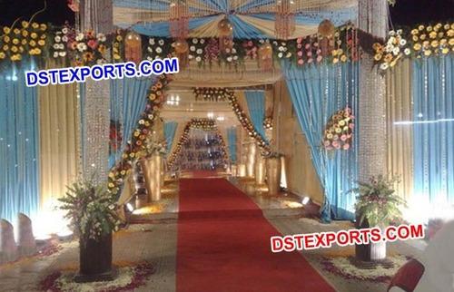 Wedding Crystal Entrance Theem