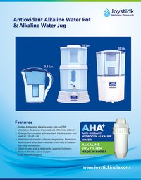 Alkaline Jug for Antioxident Alkaline Water