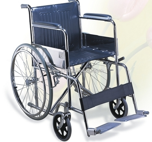 Folding Steel Wheelchair Compact Imported