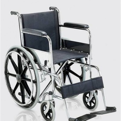 Folding Steel Wheelchair Imported with M