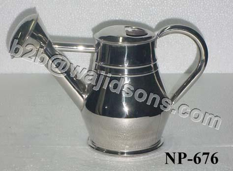 Nickel Plated Watering Can