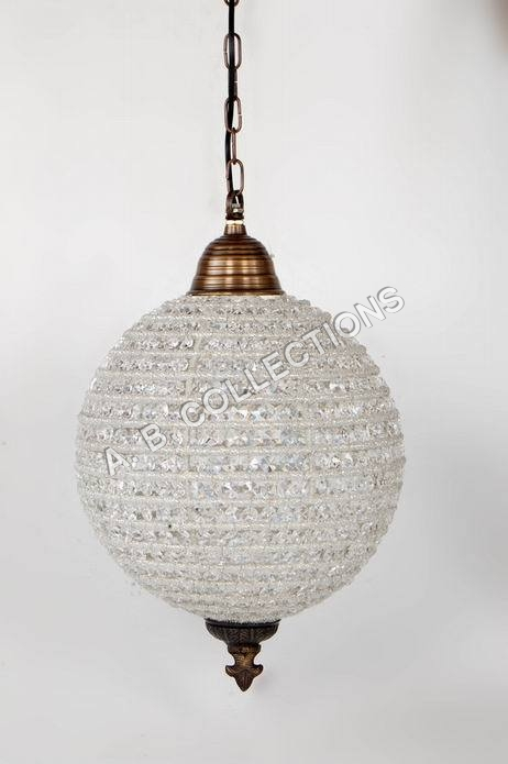BEADED BALL CHANDELIER