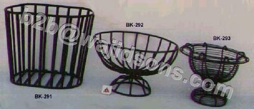 Oval Magazine Rack Wire Black