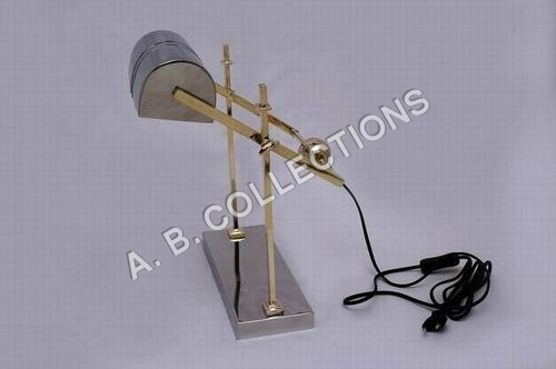 ADJUSTABLE ROUND BALL DOUBLE PIPE LAMP