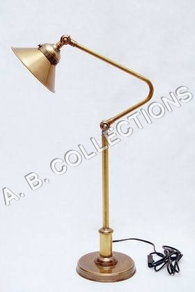 ADJUSTABLE TOWER BRONZE LAMP