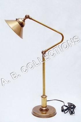 ADJUSTABLE TOWER BRONZE LAMP