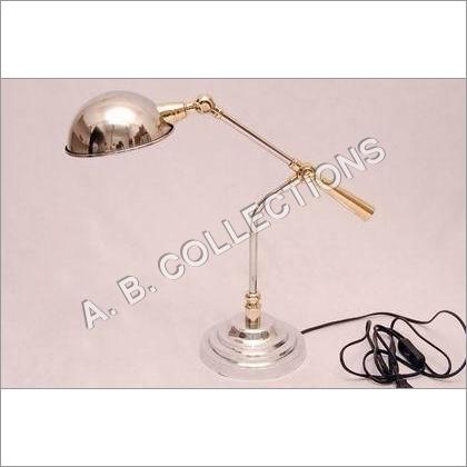 DESK TAPPER ROUND BASE PORTABLE LAMP