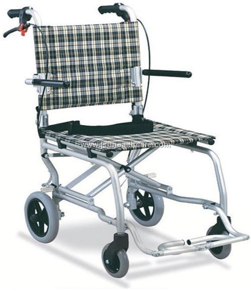 Folding Aluminum Wheelchair Ultra Compact Airport