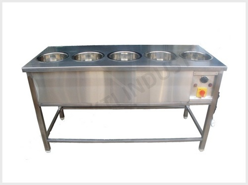 Five container Bain marie