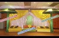 Muslim Wedding Mehandi Function Stage