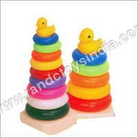 Plastic Teddy Rings