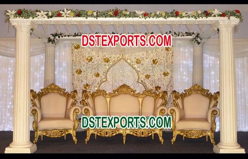Asian Wedding Beautiful Stage
