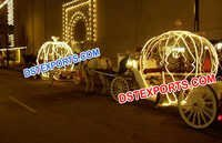 Wedding Lighted Cinderalla Carriages