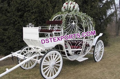 Wedding Beautiful Cindrella Carriage