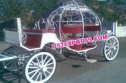 New Indian Wedding Cinderella Carriage