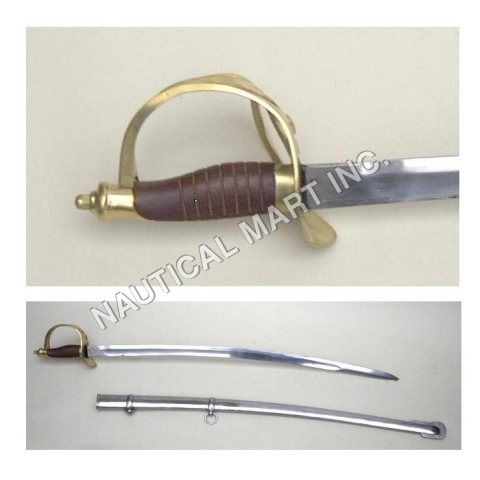U.S Cavalry Swords Wooden Handle 40