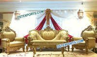 Asian Wedding Stage Love Furniture Set
