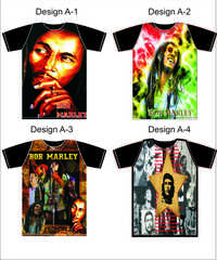 Digital printed t shirts of india