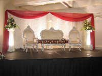 ASIAN WEDDING PEARL FURNITURE