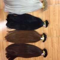 width of human hair