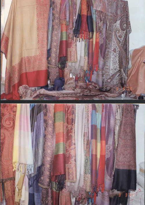 100% woollen jamawar shawls
