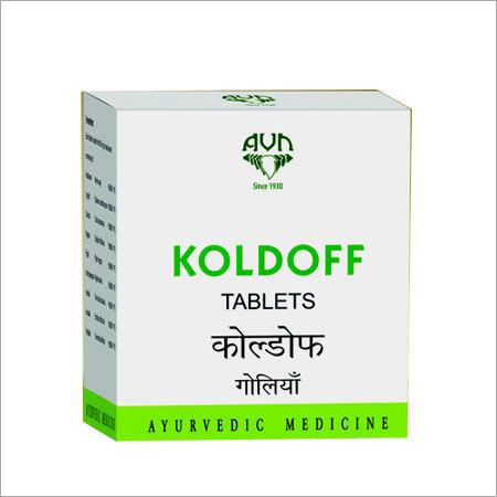 Ayurvedic Koldoff Tablets
