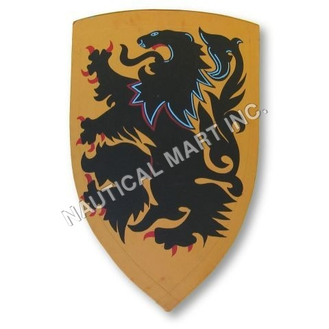Medeival Lion Shield