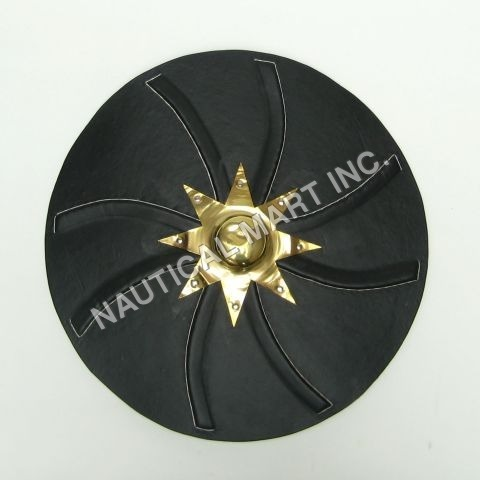 Leather Mounted Shield(L20203)