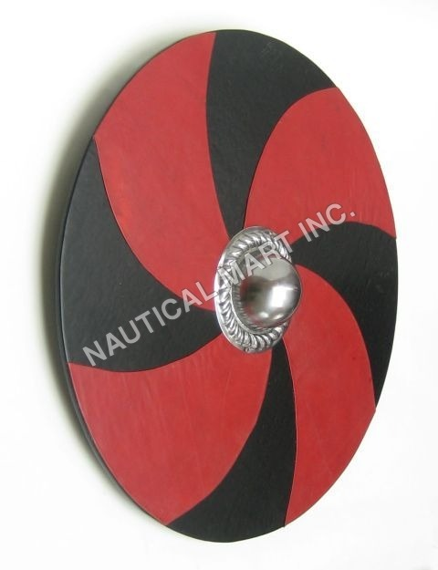 Leather Mounted Shield(L20178)