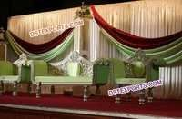 Wedding New Designer Silver Carved Furnitures