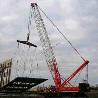 Self Erecting Crawler Cranes Rental Services