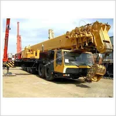 Telescopic Boom Cranes Hiring Services