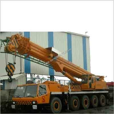 Hydraulic Telescopic Cranes Rental Services