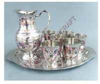 Silver Plated Brass Lemon Set